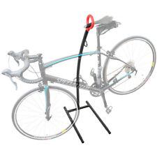 Bike Storage Floor Rack Parking Stand Holder Wheel Cycling Steel Home Garage  J