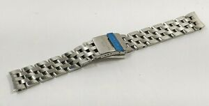 Authentic Breitling Pilot 15mm Stainless Steel Bracelet 766A
