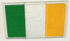 Irish Flag Small Iron On / Sew On Patch Badge 8.5 x 5.5cm IRELAND EIRE