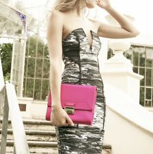 Clarence Frank- Jayne Cross Body - Pink- Womans Bag- Genuine Leather