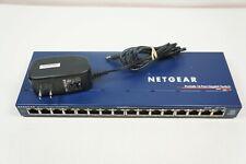 NETGEAR ProSafe 16 Port Gigabit Switch GS116