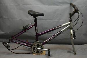 "2002 Trek 800 Singletrack Hybrid Bike Frame Medium 17"" MTB Cromoly Steel Charity"