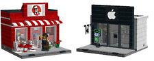 Lego Apple Store&KFC building instruction -MOC+1Free gift instruction-No bricks!