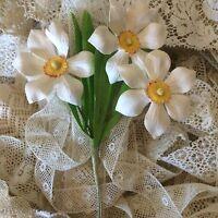 Vintage Hat Millinery Dolls Floral Flowers Floral Blythe Clothes Daisy Per 1