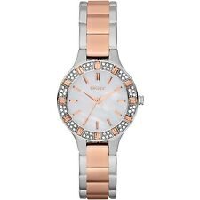 DKNY Women's NY8812 Mother Of Pearl Dial Two-Tone Stainless Steel Bracelet Watch