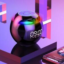 Bluetooth speaker alarm clock portable mini mobile phone subwoofer card radio