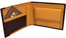 Portafoglio Pelle La Martina Uomo porta carte portamonete Dark Yellow 2250013