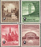 Deutsches Reich 665-668 (kompl.Ausg.) mit Falz 1938 Turnfest Breslau