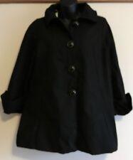 BNWT CHARLY Cactus Jam Black Swing Cotton Coat Size 3 (L)