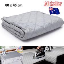Table Top Folding Portable Caravan Travel Ironing Blanket Board Cover Mat BK