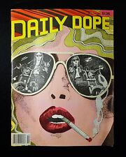 VINTAGE 'DAILY DOPE' PAPER MAG OCT 1979 ISSUE # 1 VF/NM 9.0 COMICS, Mid-Century