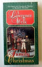 A Lawrence Welk Family Christmas ~ New VHS ~ Xmas Holiday Music Movie Video