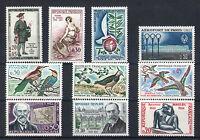 France 60 timbres non oblitérés gomme**  Divers