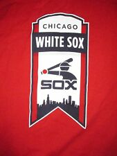 Chicago White Sox Vintage Style Banner T Shirt Sz XL MLB Baseball South Side