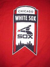 Chicago White Sox Vintage Style Banner T Shirt Sz XL MLB Baseball South Side