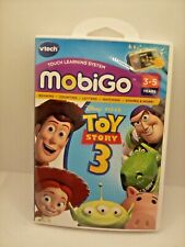 VTech MobiGo Disney Pixar Toy Story 3 Learning Game cartridge in case with manua
