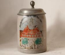 Antique German Reichswehr Military Beer Stein Telegraph Battalion c.1921