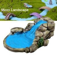DIY Miniature Fairy Garden Lawn for Ornament Decor Pot Accessories Dollhouse