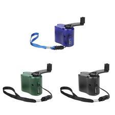 1x Teléfono Celular Portátil Cargador De Emergencia USB Manivela Mano Manual Dynamo para móvil