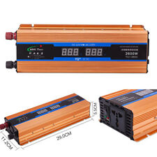 Car Inverter DC12VTo AC220V Voltage Modified Sine Wave Power Overload Protection