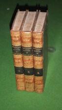 XIXe S. / ROBERTSON : HISTOIRE DU REGNE DE L'EMPEREUR CHARLES-QUINT -1822- 3 T.