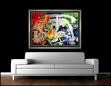 Romare Bearden Original Color Lithograph Signed Stomp Time Jazz Suite Artwork