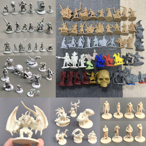 Zombicide Dungeons & Dragon Miniatures D&D Board Game Figures Role Playing Toys