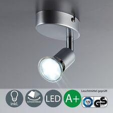 LED Decken-Lampe Wohnzimmer schwenkbar GU10 Metall Wand-Spot Leuchte 1-flammig