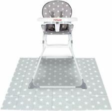 My B Grey Stars Highchair Splash Mat