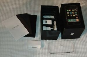 Apple iPhone 1. Generation 2G 8GB AT&T A1203 Collector Box Package Packaging