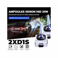 2 AMPOULES D1S 35W Lampe rechange remplacement feu Xenon HID 6000K Blanc Pur