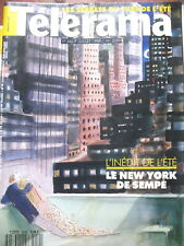 2059 LE NEW-YORK DE SEMPé JOHN IRVING COMENCINI K. SCOTT THOMAS TELERAMA 1989