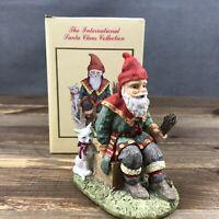Vintage 1993 International Santa Collection Sweden Jultomtar Christmas Figurine