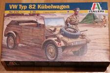 Italeri alemán Coche VW KUBELWAGEN Personal + Kit de modelo de escala 1/35 figuras (totalmente Nuevo)