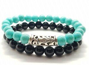 Friendship Bracelets Beaded Hematite Power Self Healing Bracelet Gemstone Reiki