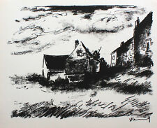 "MAURICE DE VLAMINCK - Original-Lithographie aus Mac Orlan ""Vlaminck"" von 1958"