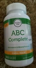 ABC Complete Multivitamin (300 Caplets) Compare to Centrum Exp 08/21