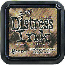 Tim Holtz Distress Ink Pad - Walnut Stain Stamp Stamping Ranger Brown
