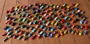 Job lot bundle of 140 Micro Machines cars, army, planes, trucks, big wheels