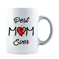 Best Mom Ever Mothers Day Idea Funny Life Mom Ceramic Coffee Mug Tea Cup