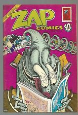 1st P ZAP COMIX #6 R CRUMB Victor Moscoso SPAIN Robt Williams S C Wilson SHELTON