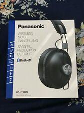 NEW Panasonic RP-HTX90N Bluetooth Noise Cancelling Headphone, Black
