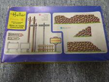 Maquette vintage Heller - Environnement de combat au 1/35