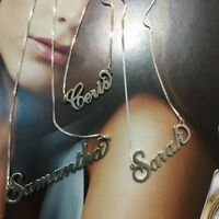 Personalized Name Necklace 925 Sterling Silver Choose Any Name