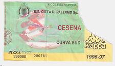 54206 Biglietto stadio - Palermo Cesena - 1996/1997