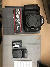 NO RESERVE! Canon EOS 5D Mark III 22.3MP Digital SLR Camera Body Only 1% Shutter