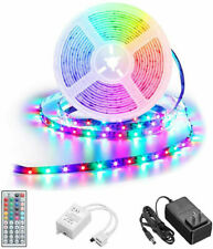 Waterproof  5M 16.4ft RGB 300 LED 3528 SMD Flexible Strip Light Remote+12V Power