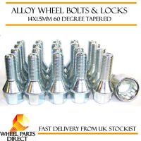 16 D Alloy Wheel Bolts 12x1.5 Nuts Tapered for Opel Corsa OPC 07-14