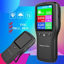 PM2.5 PM10 Formaldehyde HCHO TVOC LCD Digital Detector Air Quality Monitor 152mm