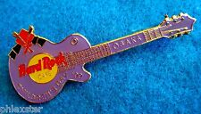 OSAKA CHILDREN'S DAY JAPANESE SAMURAI MASK PURPLE LP GUITAR Hard Rock Cafe PIN